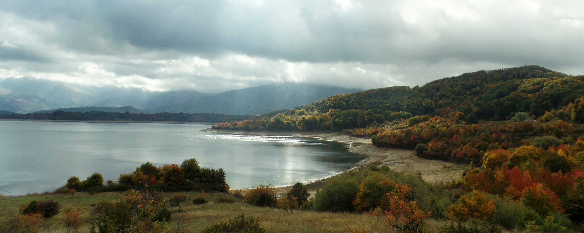 Abruzzo Italy Lago Campotosto holiday