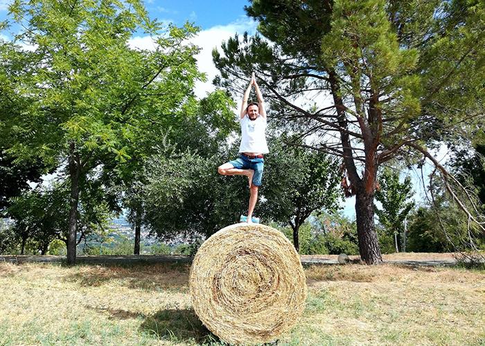 yoga holiday Italy Casa Amrita