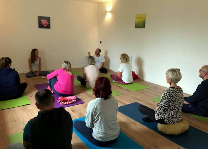 Yoga and meditation at Casa Amrita, Yoga B&B, Italy, Abruzzo